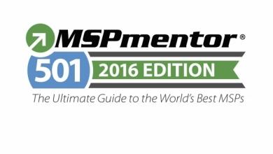 MSP 501 2016 Award