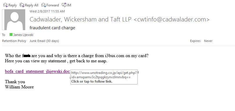 BEWARE: More Phishing Attempts