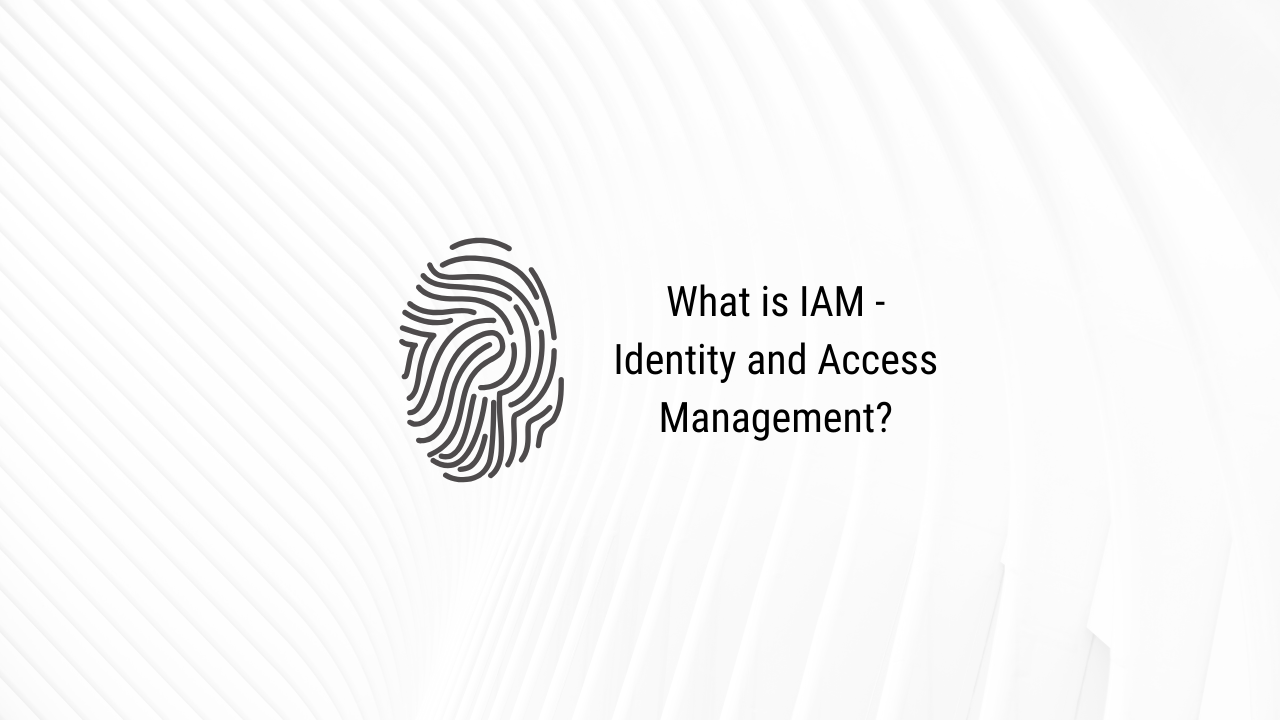 Does your company need identity and access management?